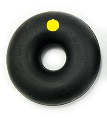 Goughnuts - Indestructible Chew Toy MAXX 50 Ring Black