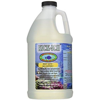 Ruby Reef ARR11128 Kick-Ich Aquarium Water Treatment, 64-Ounce