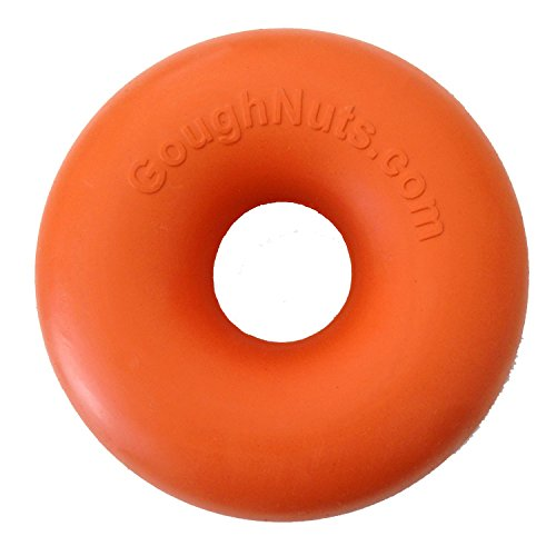 Goughnuts Rubber Dog Chew Toy Med .75 Orange
