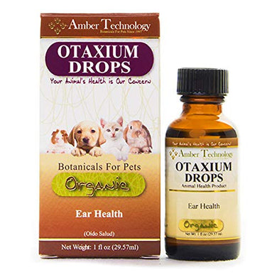 Amber Technology Otaxium-Drops Ear Health for Pets, 1 oz.