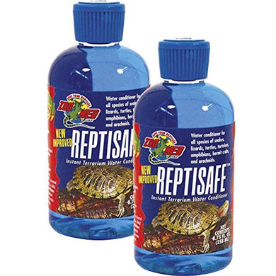 Zoo Med ReptiSafe Water Conditioner, 8.75 oz (2 Pack)