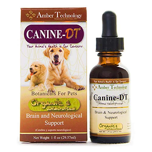 Amber Technology Canine-DT Brain and Neurological Support for Canines, 1 oz.