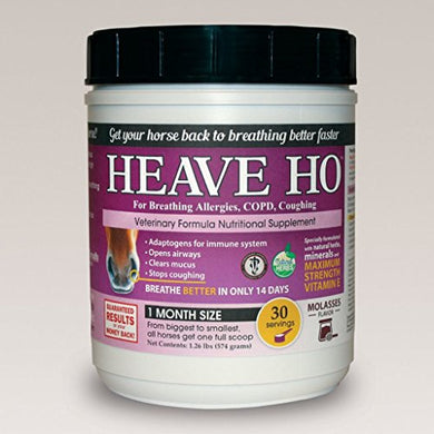 Equine Horse Heave Ho - Molasses Flavor - 30 Serving
