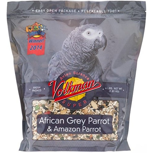 Volkman Seed Factory Avian Science AFRICAN GREY - /4#