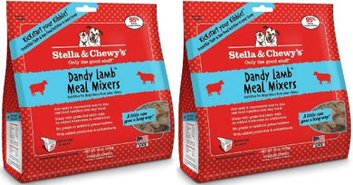 Stella & Chewy's  Pouch Freeze Dried Super Meal Mixers, Lamb, 16 Ounce (2 Pack)