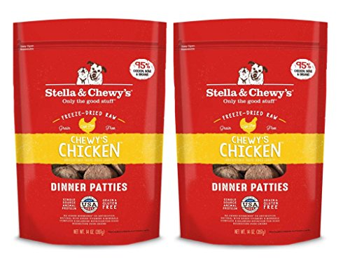 Stella & Chewys Chewys Chicken Dinner Patties - 2 Pack