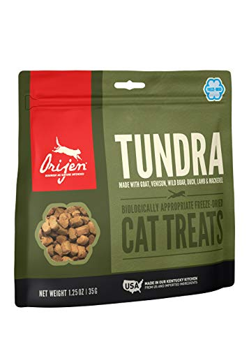 Orijen Tundra Freeze-Dried Cat Treats | Biologically Appropriate | 1.25oz