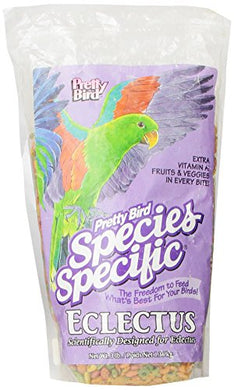Pretty Bird International Bpb73318 Species Specific Special Eclectus Bird Food, 3-Pound