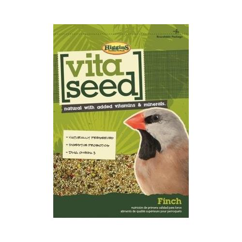 HIGGINS 466161 Vita Seed FInch Food for Birds, 25-Pound