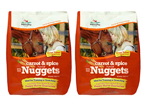 Manna Pro Horse Treat Multipack Carrot and Spices, 4 Pounds (Pack of 2)
