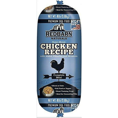 Redbarn Pet Products Chicken and Liver  Roll 4 lb.