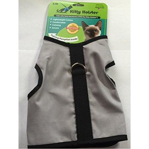 Kitty Holster Cat Harness Gray Small Medium