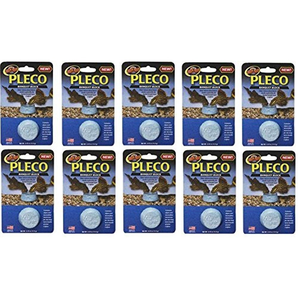 Zoo Med Laboratories Pleco Banquet Blocks (10 Pack)