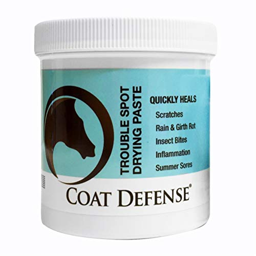 Coat Defense Drying Paste for Horses 10oz