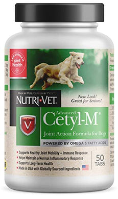 Cetyl M Joint Action Formula for Dogs, 50 Count