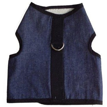 Kitty Holster Cat Harness Small Denim