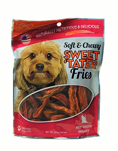 Carolina Prime Soft and Chewy - Beef Infused - Sweet Tater Fries - 12 Oz Pkg.