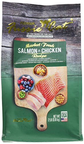 Fussie Cat Market Fresh Salmon & Chicken Recipe, 2 lb
