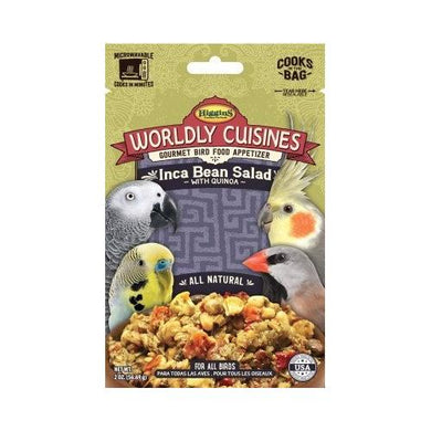 Higgins Worldly Cusines Inca Bean Salad - 2 Ounce