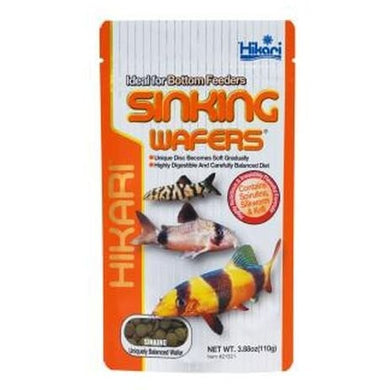 Hikari Tropical Sinking Wafers for Catfish, Loaches and Bottom Feeders 3.88 oz