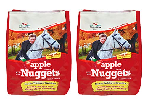 Manna Pro Horse Treat Multipack Apple, 4 Pounds (Pack of 2)