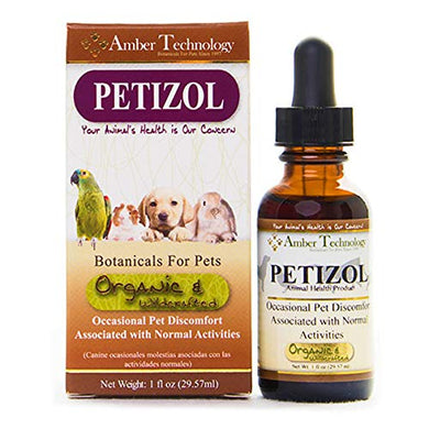 Amber Technology Petizol Occasional Canine Discomfort, 1 oz.