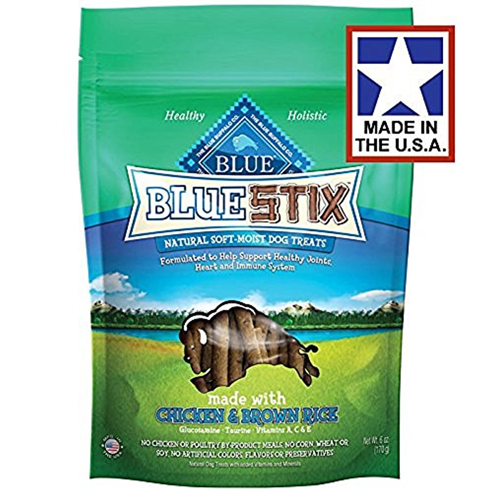 Blue Buffalo Stix Chicken&Brown Rice (Pack of 3)