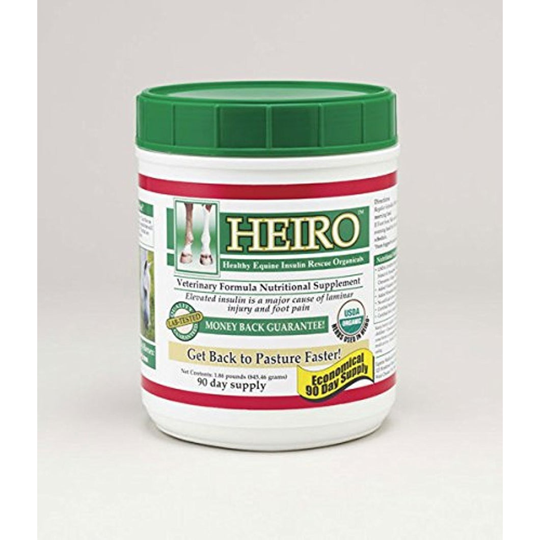HEIRO Healthy Equine Insulin Rescue Organical 30 Day Supply