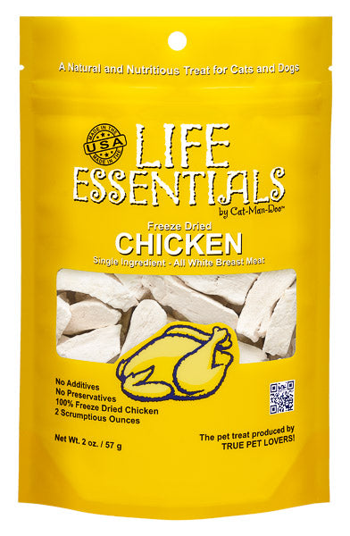 Life Essentials Freeze Dried Chicken - 2 oz