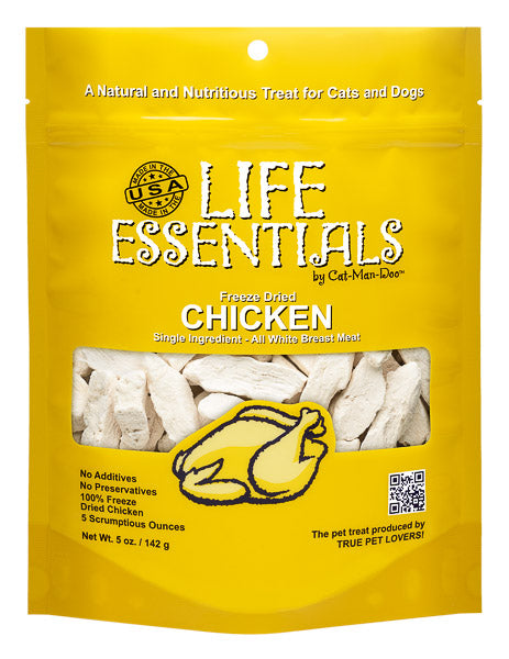 Life Essentials Freeze Dried Chicken - 5 oz