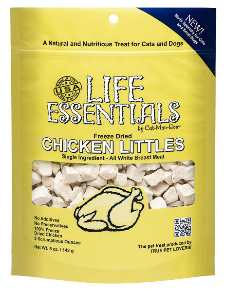 Life Essentials Freeze Dried Chicken Littles - 5 oz
