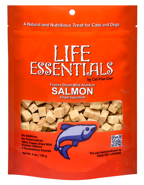 Life Essentials Freeze Dried Salmon - 5 oz
