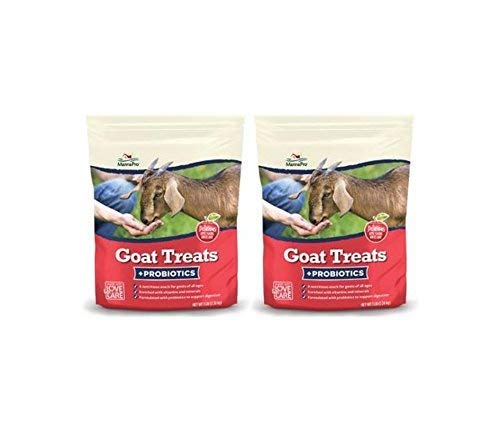 Manna Pro Apple Goat Treats Probiotics (2) 6lb Bags Total 12lbs