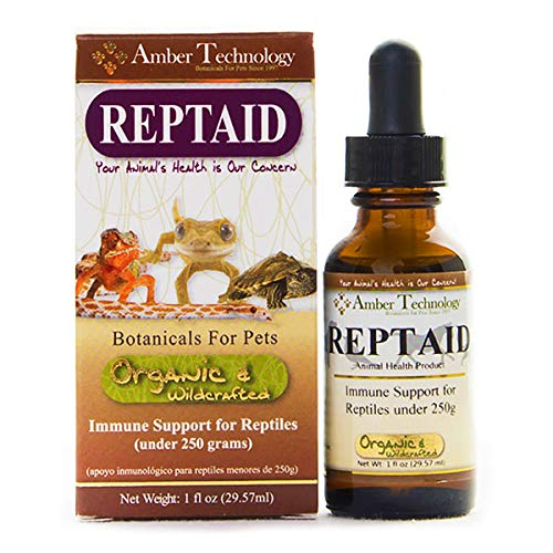 Amber Technology Reptaid Immune Support for Small Reptiles, 1 Ounce