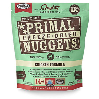 Primal Freeze Dried Pet Foods Chicken 14OZ