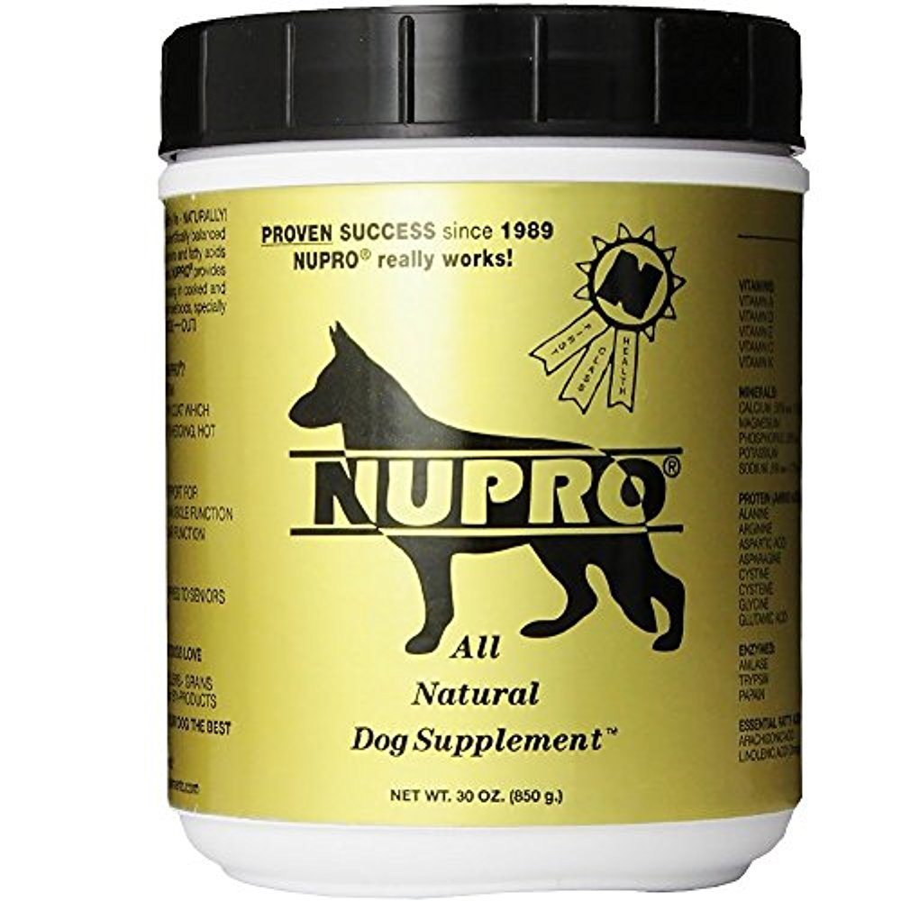 Nutri-Pet Nupro All Natural Supplement for Dogs 30OZ