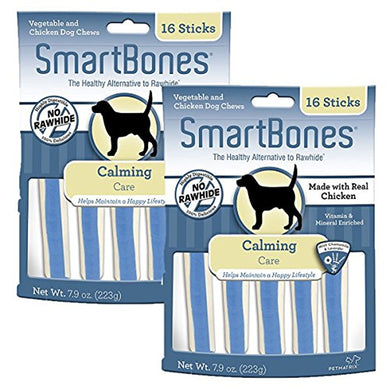 SmartBone Functional Sticks Calming Dog Chews, 16 pieces/pack