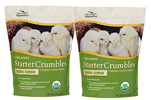 Manna Pro Chick Organic, 5 Pounds (Pack of 2)
