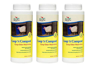 Manna Pro Coop 'N Compost Odor Neutralizer (Pack of 3)