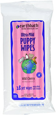 Earthbath All Natural Grooming Wipes, Puppy - Pack of 1