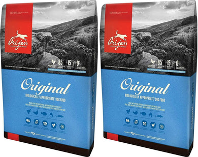 Orijen Original Dry Dog Food, 4.5 lb Per Bag 2 Pack