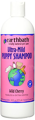 Earthbath Totally Natural Pet Shampoo, Puppy shampoo 16 oz