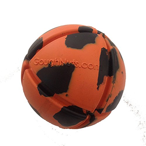Goughnuts - Interactive Chew Toy for Dogs - Ball Orange