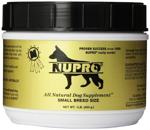 Nupro Small Breed Dog Food Supplement for Small Dogs of All Ages, 1 Pound