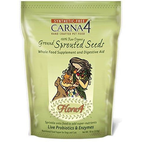 Carna4 Flora4 Raw Food Topper, 18oz