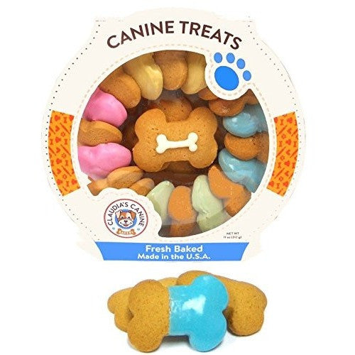 Claudias canine bakery Carousel Canine Party Bones  11 oz. 013002