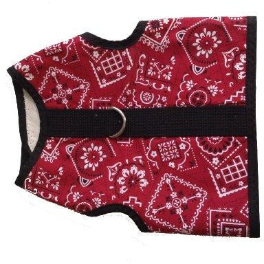 Kitty Holster Cat Harness Red MED large