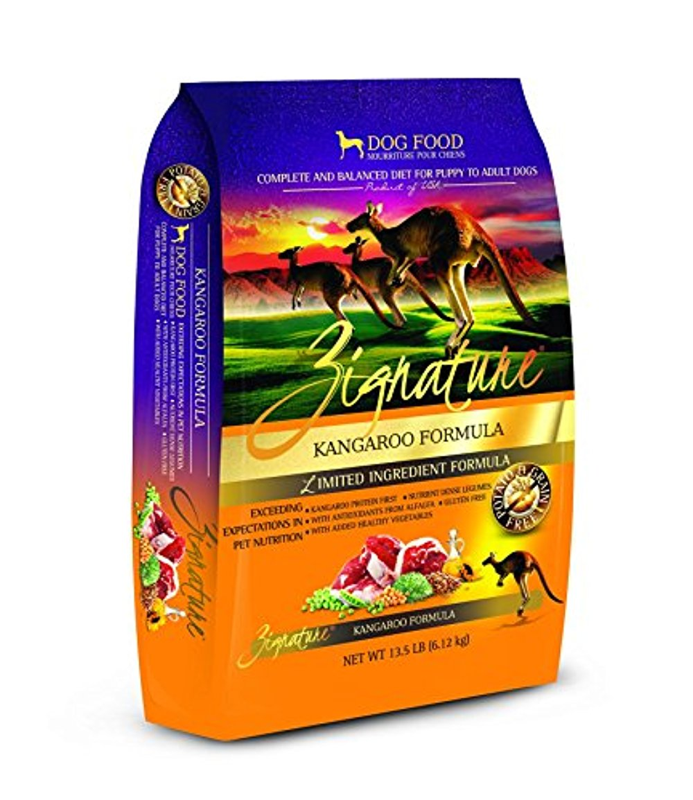 Zignature Kangaroo Formula Dog Food, 13.5 lb.