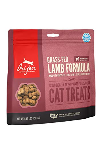 Orijen Grass-Fed Lamb Freeze-Dried Cat Treats | Biologically Appropriate | 1.25 oz
