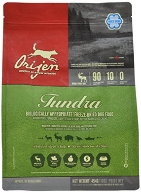Orijen Freeze-Dried Tundra Formula, 16 oz
